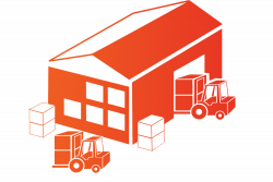 Warehouse clipart
