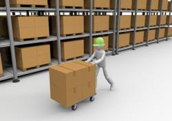 Warehouse clipart material management