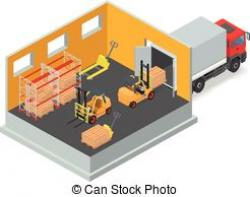 Warehouse clipart storage warehouse