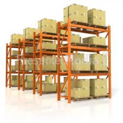 Warehouse clipart warehouse rack