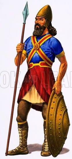 Woman Warrior clipart mesopotamia