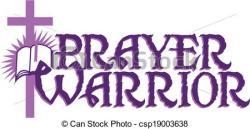 Warrior clipart prayer