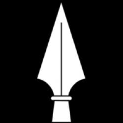 Spear clipart spear head