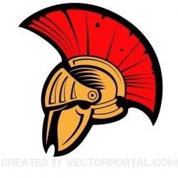 Warrior clipart warrior helmet