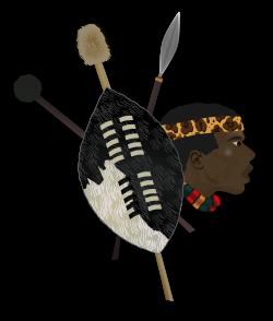 Shield clipart zulu