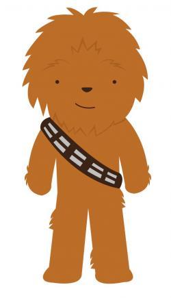 Star Wars clipart wookie