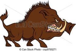 Boar clipart cartoon