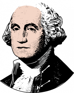Presidents clipart george washington