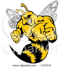 Hornet clipart killer bee