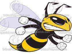 Hornet clipart cartoon
