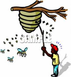 Bee Hive clipart hornets nest