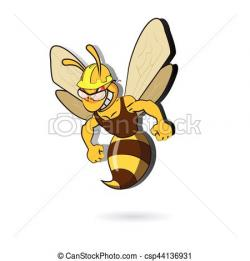 Wasp clipart working bee