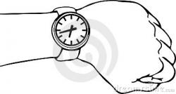 Watch clipart arm