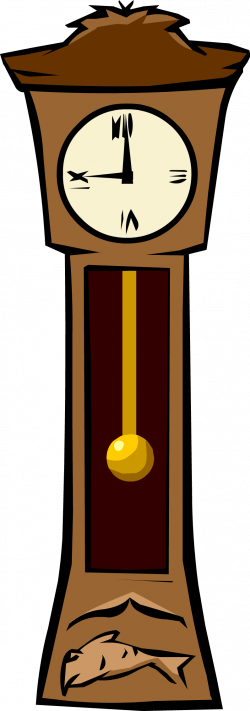 Clock clipart grand father