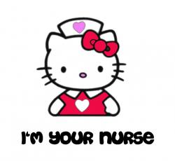 Nurse clipart hello kitty