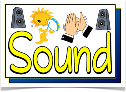 Display clipart loud sounds