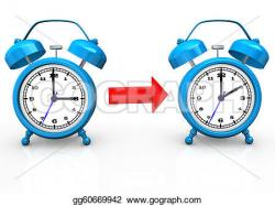 Watch clipart time change