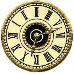 Clockworks clipart antique