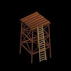 Airport clipart watchtower