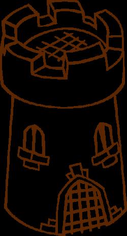 Stone clipart watchtower