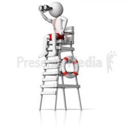 Watchtower clipart lifeguard