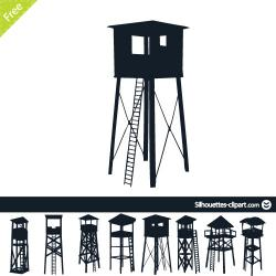 Watchtower clipart water tower