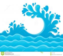 Drops clipart ocean splash