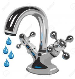 Fawcet clipart kitchen faucet
