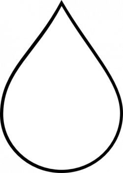 Drops clipart teardrop shape