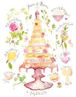 Wedding Cake clipart wedding gift