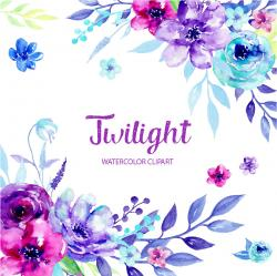 Lilac clipart watercolour
