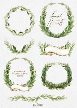Wreath clipart classy