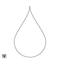Drawn raindrops rain droplet