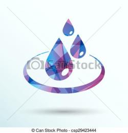 Drops clipart fluid