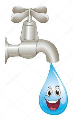 Fawcet clipart water drop