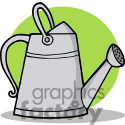 Watering Can clipart farm tool