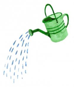 Watering Can clipart sprinkling