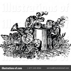 Watering Can clipart vintage