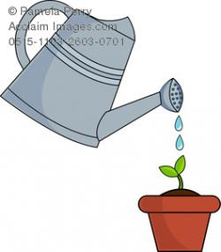 Watering Can clipart water container