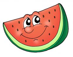 Smiley clipart watermelon