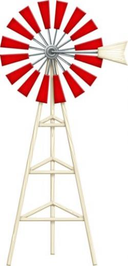 Watermill clipart farm windmill