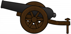 Canon clipart gun