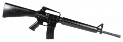 Assault Rifle clipart m16
