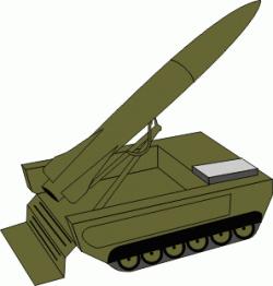 Missile clipart art