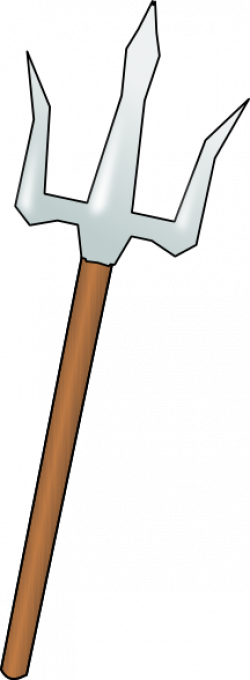 Spear clipart trident
