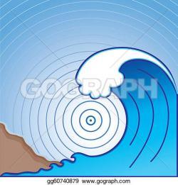Monster Waves clipart tsunami