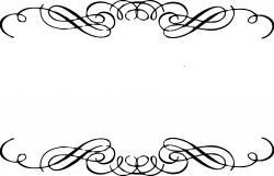 Vignette clipart decorative scrolling