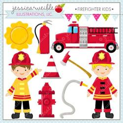 Dalmation clipart firefighter equipment