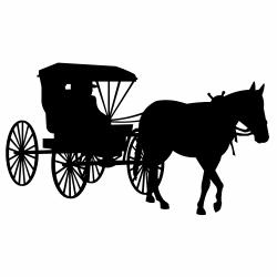 Cart clipart amish