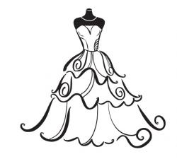 Wedding Dress clipart